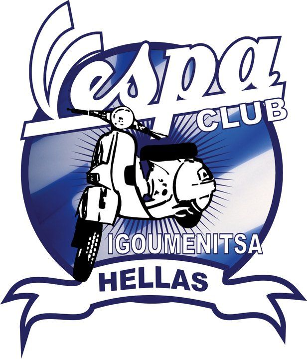 #VespaClubVolos #logos Ακόμα ένα παράξενο σήμα, μιας και του λείπουν τα τετραγωνάκια περιφερειακά του κύκλου...