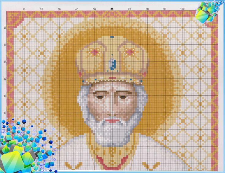 Николая Чудотворца, Схема