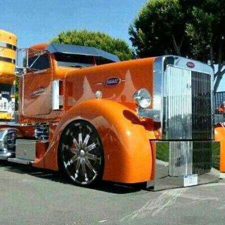 58 best custom semi images on pinterest big trucks - Bac a semis ...