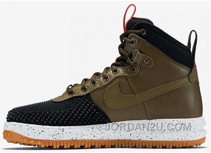 NIKE LUNAR FORCE 1 DUCKBOOT 80599900l Military Green Men 4047