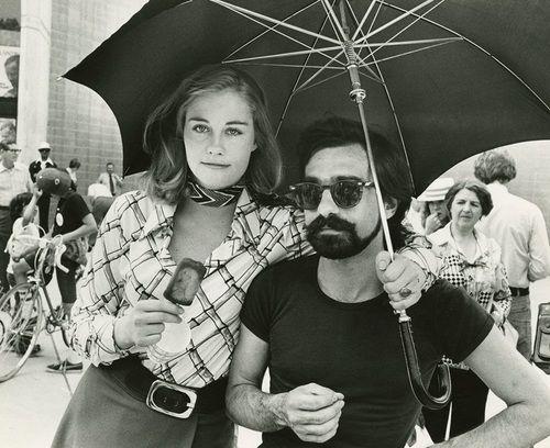 Сибилл Шеперд и Мартин Скорсезе ТАКСИСТ 1976