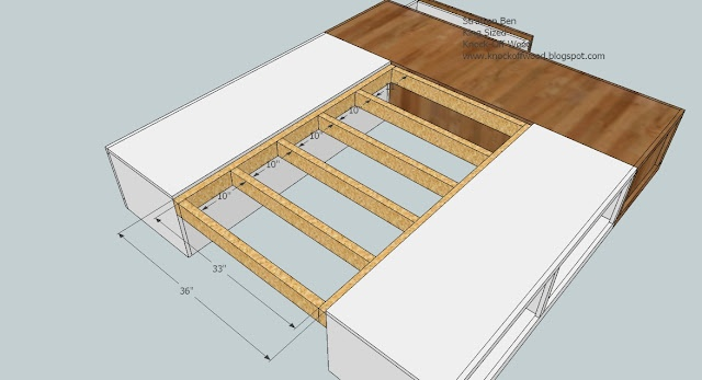 Permalink to how to build your own king size platform bed