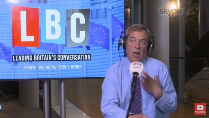 The Nigel Farage Show: The Charlie Gard Case. LBC Live from Strasbourg -...