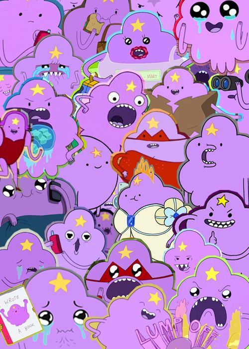 Lumpy Space Princess from Adventure Time!