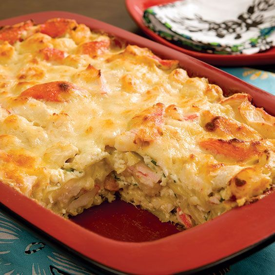 Seafood Lasagna - Paula Deen Magazine