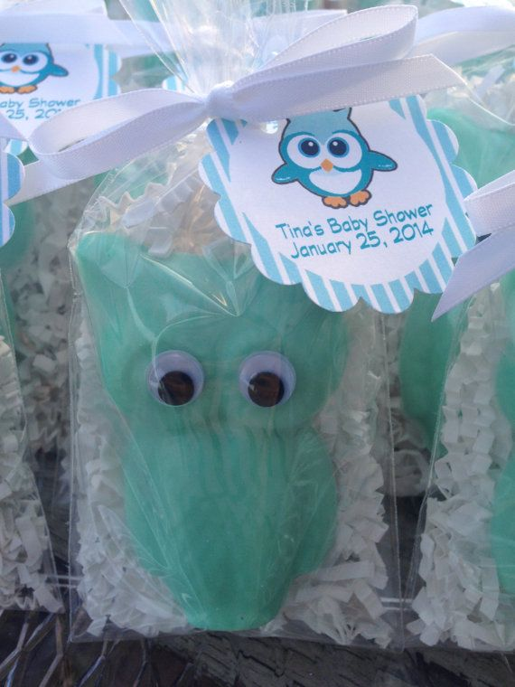 10 Owls soaps Tags and ribbons included Party favors by BBSoaps
