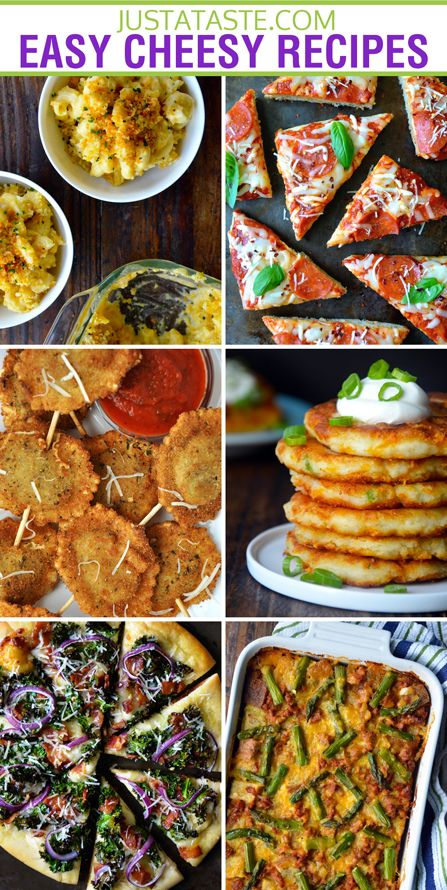 31 Easy, Cheesy Recipes #recipe