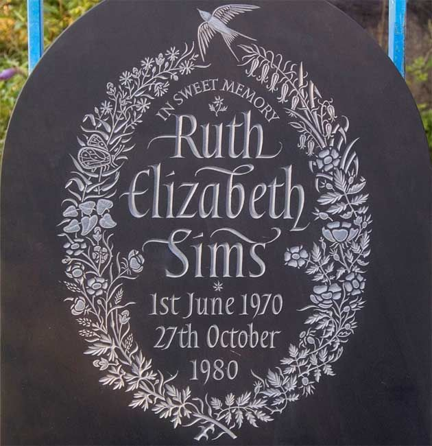Decorative Headstone Designs by Artist Craftsman Ieuan Rees.