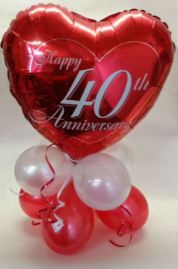 40th wedding anniversary table decorations 363 best balloons anniversary images on 50th 1122