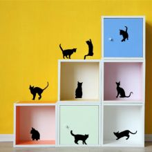 Online shopping for cats wall decor with free worldwide shipping