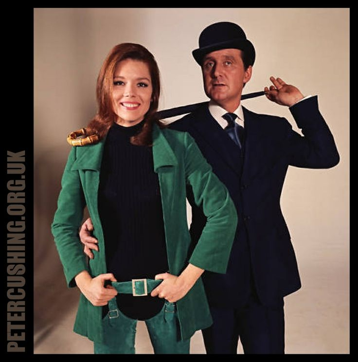 the avengers tv show | ... PETER CUSHING AND THE RETURN OF THE CYBERNAUTS: THE AVENGERS TV SERIES