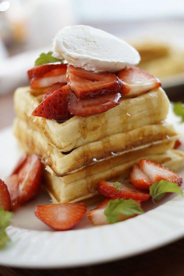 Homemade Waffle Batter Recipe