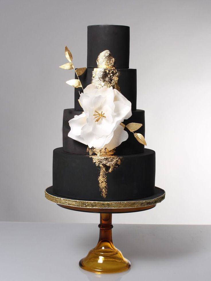 red black gold wedding cakes best 25 black wedding cakes ideas on unique 19116