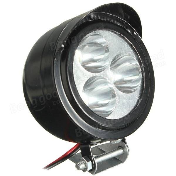 12v-80v 6W moto e-bike VTT 3 LED Lampe spot phare Vente - Banggood.com