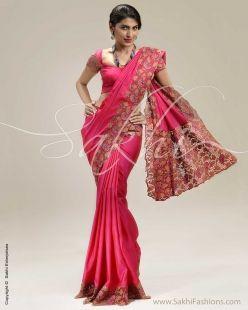 Pink Kanchivaram Silk Saree