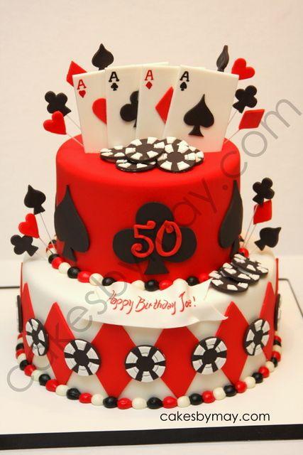 Poker Casino Birthday Cake - love this https://apps.facebook.com/cartel-poker/?pinterest