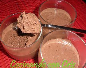 Cocinando con Cris: Mousse de chocolate Dukan