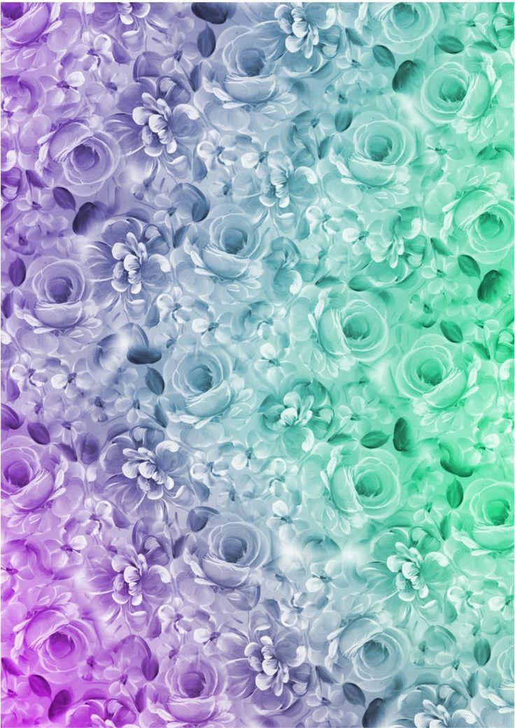 132 best pretty flower paper images on pinterest for Paper wallpaper designs