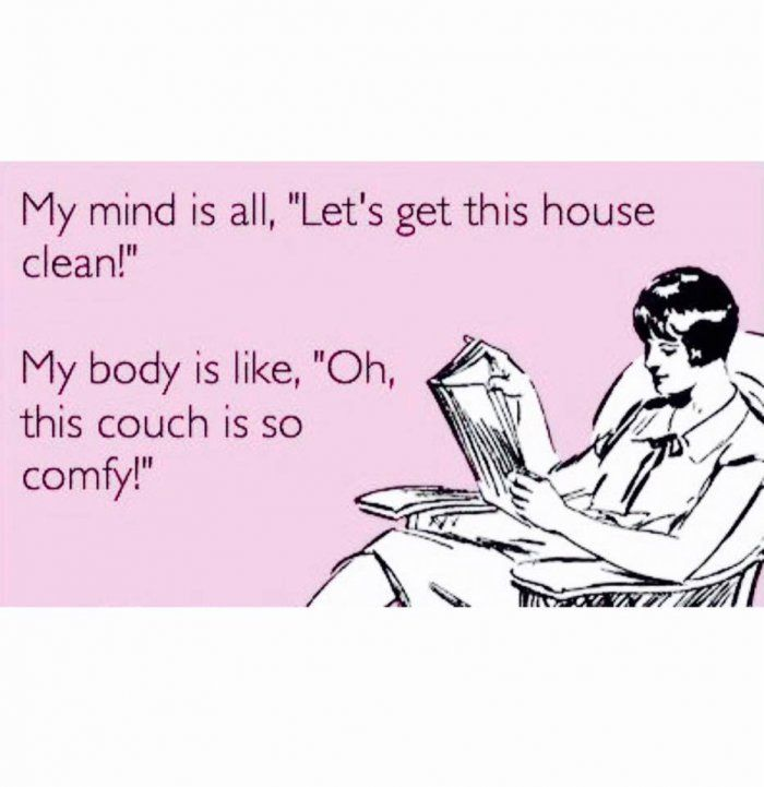 Lets get this house clean – ecard