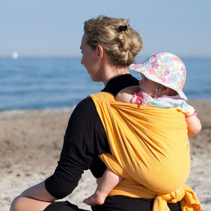 DIDYMOS Baby Wrap Sling Indio Yellow
