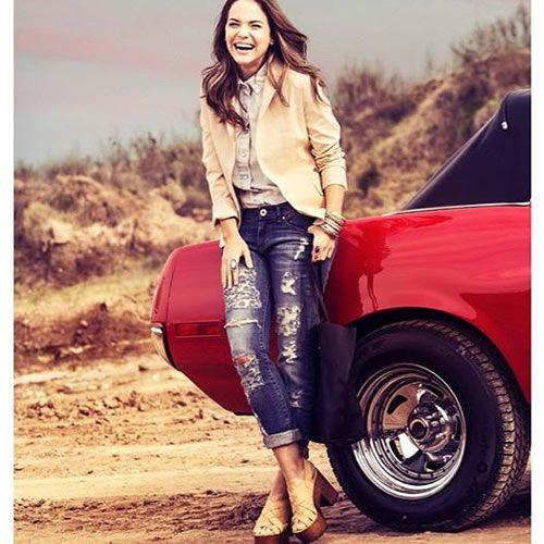 Luz Cipriota para Peuque Jeans - Bohemian Angel - Verano 2016