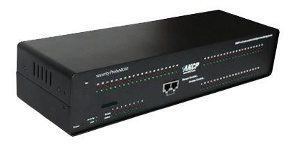 Die securityProbe5ESV-X60 (Art.-Nr. 11155) ist das  Spitzenmodell der AKCP / AKCess Pro securityProbe Alarm Server Reihe. Die securityProbe5ESV-X60 basiert auf der securityProbe-5ESV, hat zusätzl. aber 60 weitere potentialfreie Kontakte für die IP Überwachung von Störmelde-Sammelkontakten.