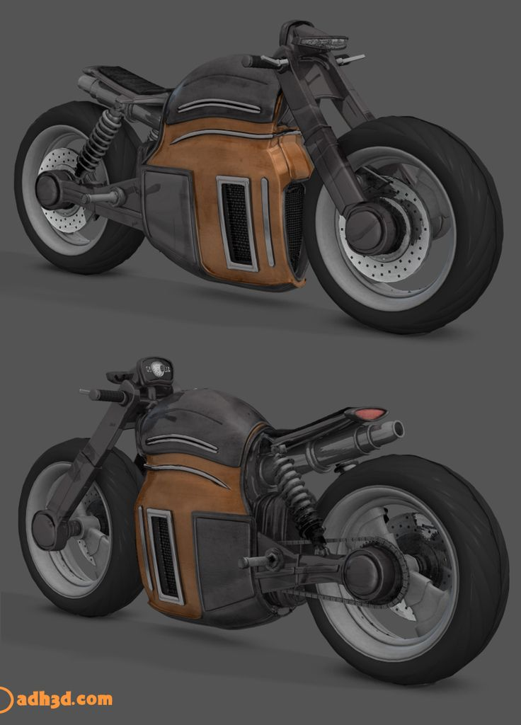 A scifi bike I am working.