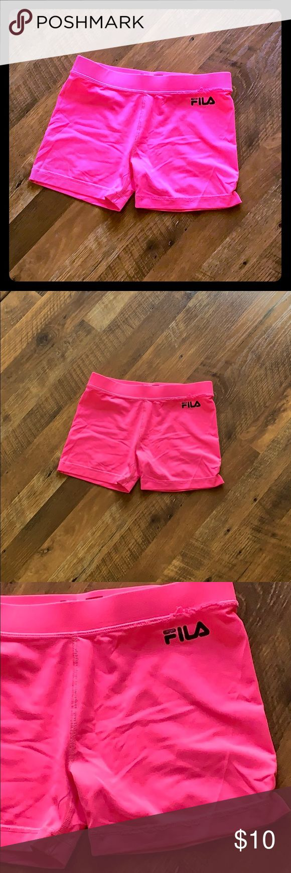 Fila Biker shorts used them for under dresses perfect Condition Fila Bottoms Sho…   – My Posh Closet