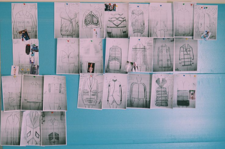 Sketches and designs of ideas during the past few months. We can't wait to show you our new collection.