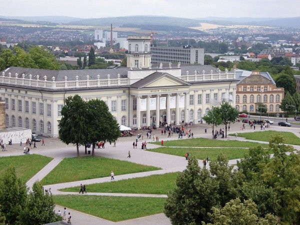 Documenta's traditional home, the Kunsthalle Fridericianum in Kassel Photo: Carroy via Wikimedia Commons
