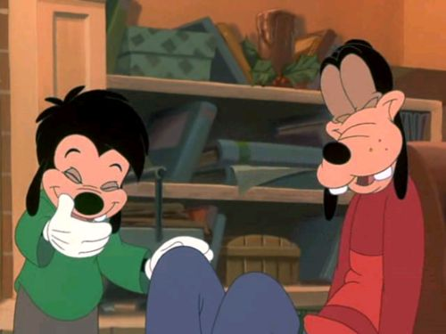 Max And Goofy In Mickey S Once Upon A Christmas Goofy