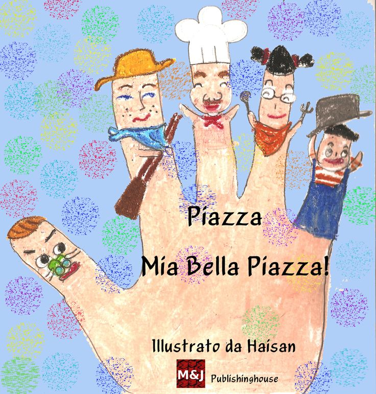 This is a nursery rhyme knew by all the Italian children. The main purpose of this rhyme is to make the baby laugh and interact with him through the story and the movements made ​​on his hand. We offer it with illustrations that will stimulate the imagination of children and adults.  http://www.amazon.com/Piazza-mia-bella-piazza-Italian-ebook/dp/B00HZQLV14/ref=sr_1_2?s=digital-text&ie=UTF8&qid=1390918019&sr=1-2  http://www.scribd.com/read/201169198/Piazza-Mia-Bella-Piazza