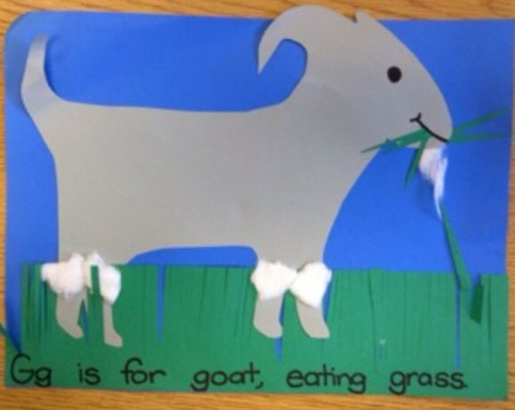 Gg is for goat craft