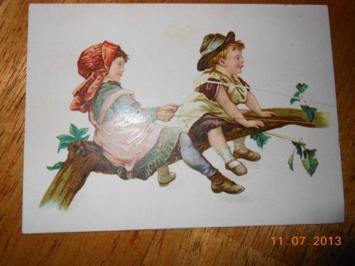 L. A. Shiveu0027s Sonu0027s Vintage Trade Card York Pa Furniture U0026 Undertaker