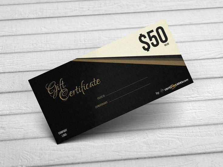 Free Gift/Voucher Certificate Template. #gift #certificate #template