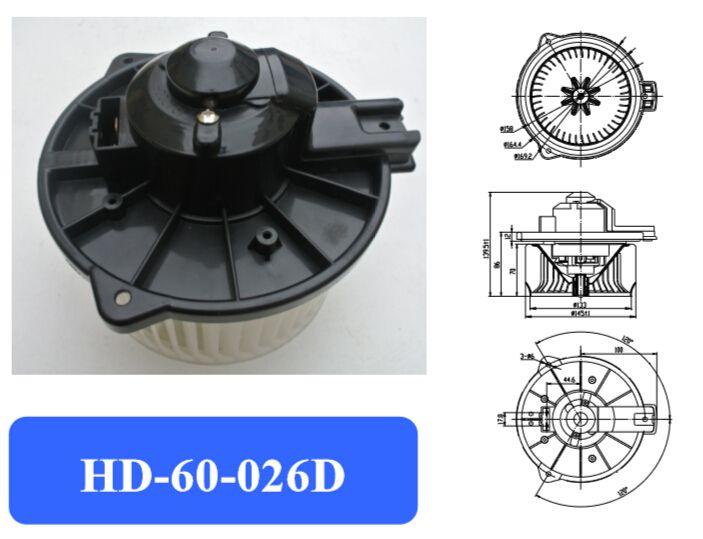Automotive air conditioning blower motor / Electronic fan/motor / LS 400 blower motor