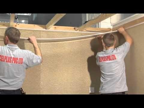 PVC Ceiling Cladding installation - YouTube