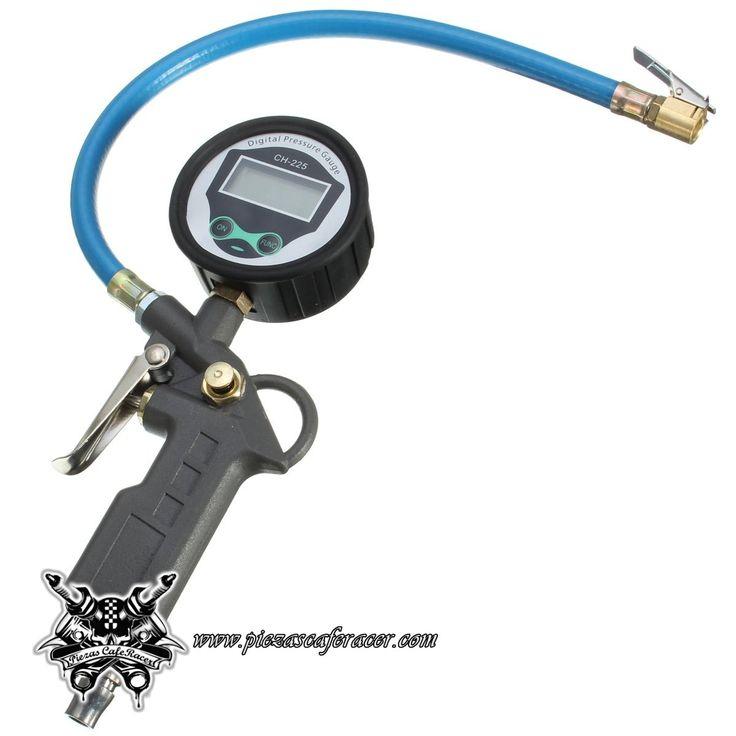 Manómetro de Precisión parea Neumáticos de Moto Coche Color Negro - 26,22€ - ENVÍO GRATUITO EN TODOS LOS PEDIDOS