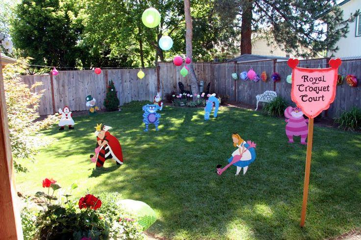 festa a tema: alice nel paese delle meraviglie tea party - feste a tema