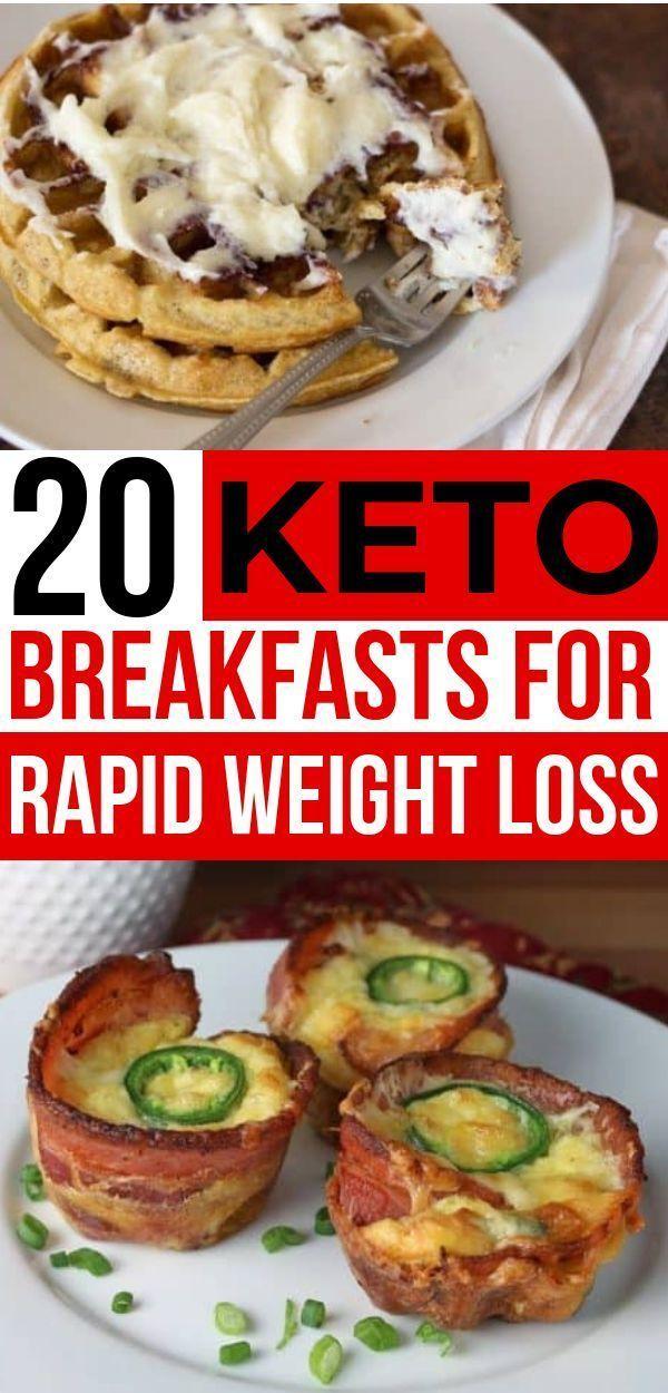 20 einfache Keto-Frühstücksrezepte zum Abnehmen