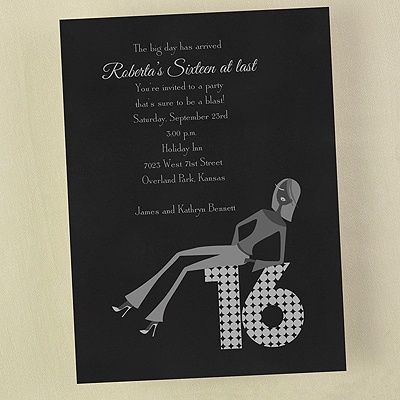 19 best sweet sixteen party invitations 16th birthday invitations sweet 16 party invitation stopboris Choice Image