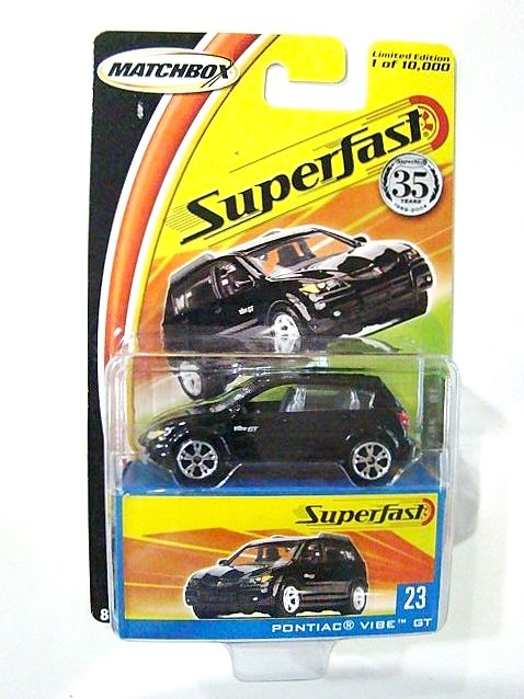 Matchbox Limited Edition Superfast #23 Pontiac Vibe GT