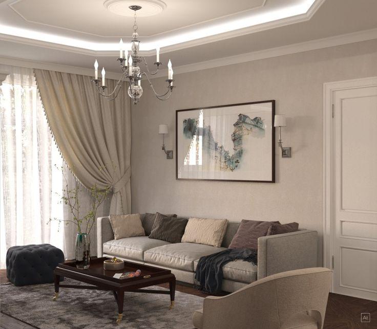 При разработке дизайна квартиры на Таллинской улице специалисты нашей студии, использовали преимущественно светлые оттенки.  В дизайн спальни были органично вписаны фотографии.