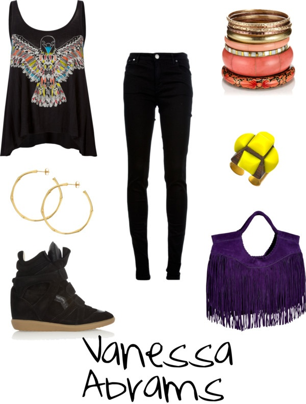 """""""Vanessa Abrams"""" by lacey-kay on Polyvore"""