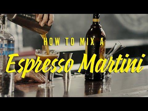 Espresso Martini Drink Recipe - Kahlúa