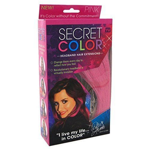 Secret Color Headband Hair Extensions Pink (3 Pack) -- Read more at the image link. #hairrepair