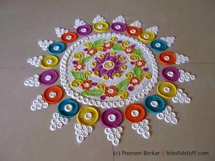 Image result for multicolour tealight rangoli