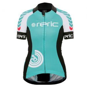 レディースGrusプリント半袖ジャージ(グリーン)| スタイリング性と機能性を両立した自転車用ウェアの総合ブランド レリック(reric)