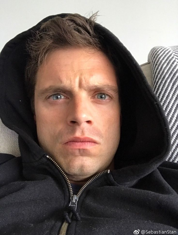 """Sebastian posted this on Weibo this morning (6th April 2017) with the caption """"Good morning CHINA"""" just look at this dork"""