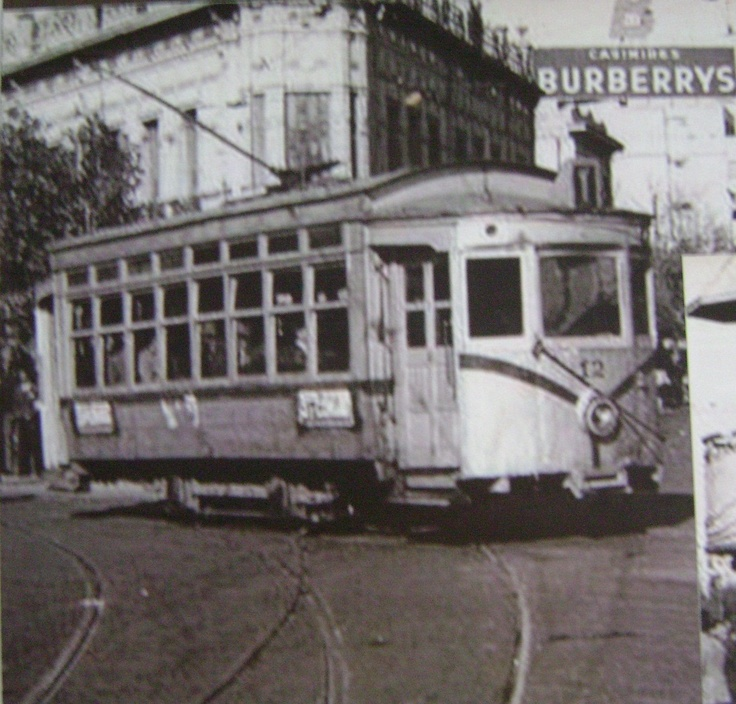 Tram in Buenos Aires, 1950.
